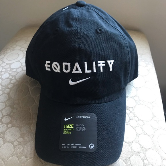 5d2348707 NEW RARE! NIKE HERITAGE 86 EQUALITY HAT UNISEX NWT